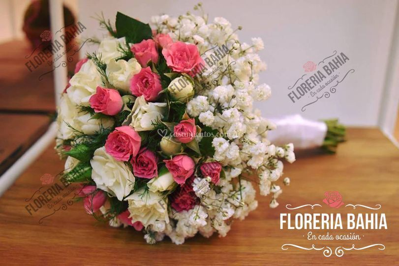 Bouquet para novia spray
