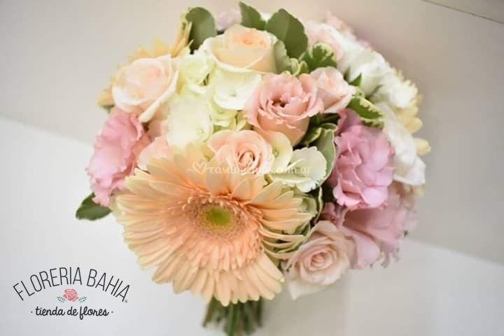 Mix de flores pasteles