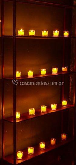 Racks de velas se alquilan
