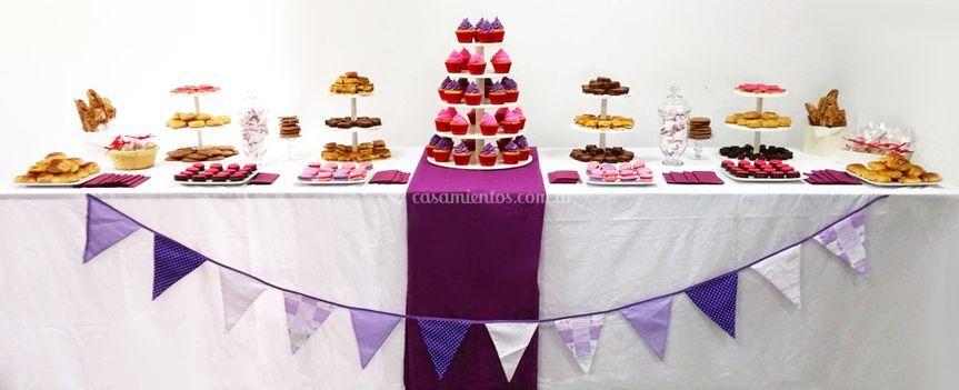 Pastelería de casamiento