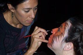 Marinapinta, Maquillaje artístico