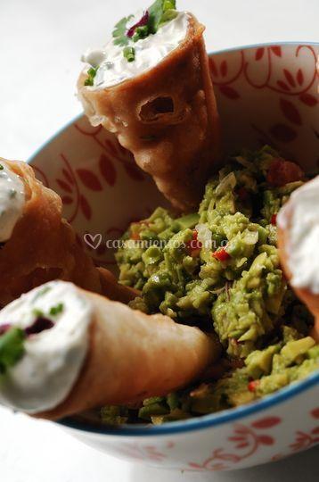 Finger food latino