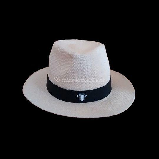 Sombrero panamá con diseño
