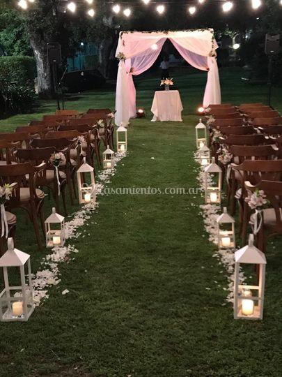 Altar y ambientacion ceremonia