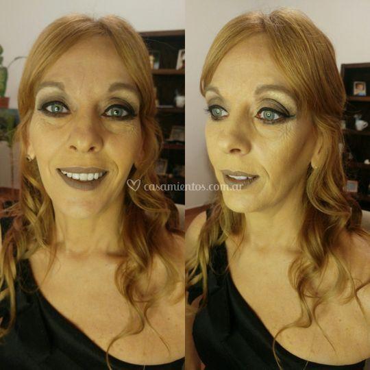 Make up para Liliana