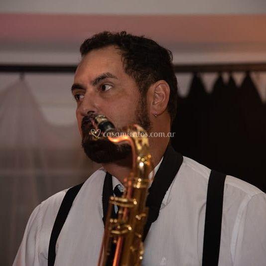 Saxofonista para tu evento