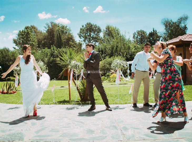 Baile en la boda de Mar&Cris