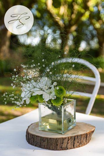 Arreglos florales rústicos