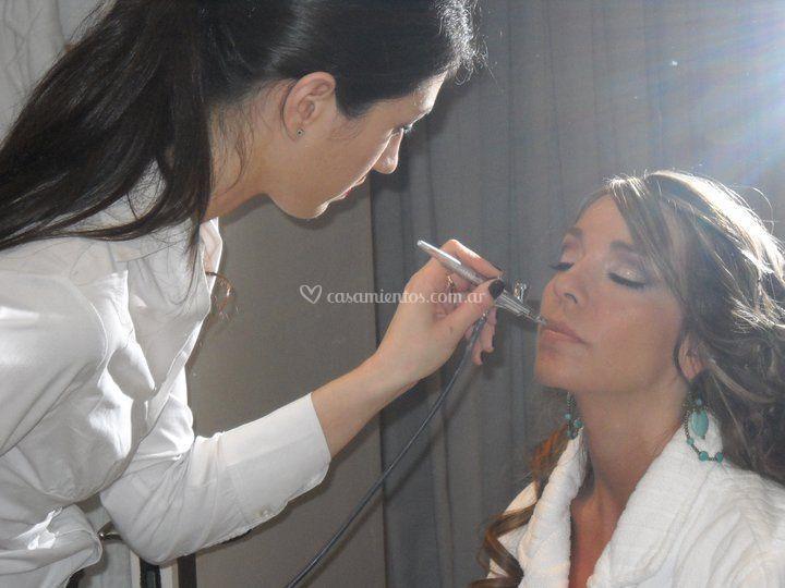 Maquillaje hd a novias