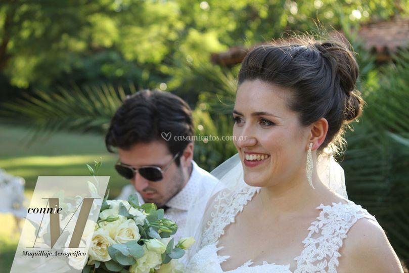 Maquillaje novias en pilar