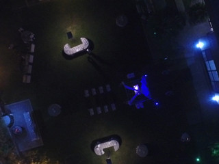 Vista aérea salón