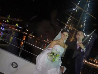 Nadia y Maxi en Puerto Madero