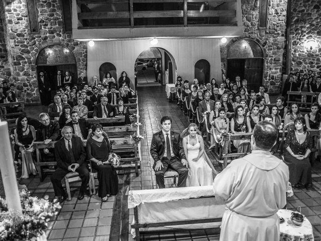 El casamiento de Tony y Martina