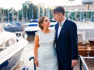 El casamiento de Daniela y Leandro