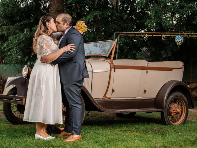 El casamiento de Carolina y Sebastián