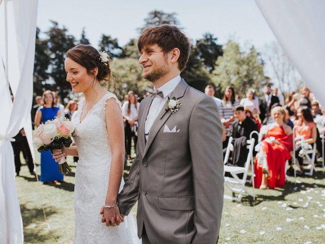 El casamiento de Mayne y Esteban