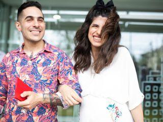El casamiento de Marina y Leo