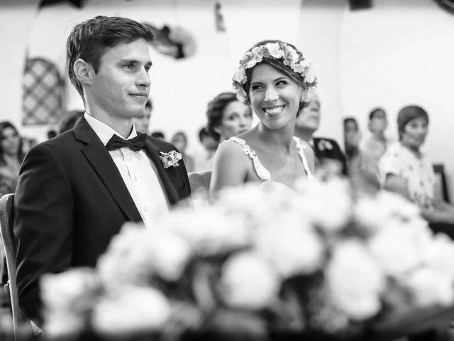 El casamiento de Virginia y Franco