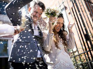 El casamiento de Paula y Allan