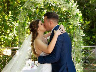 El casamiento de Amalia y Roman