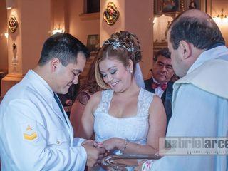 El casamiento de Daniela y Juan