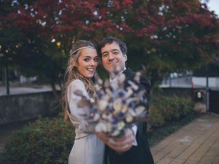 El casamiento de Soledad y Agustín