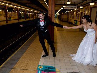 El casamiento de María y Sergio