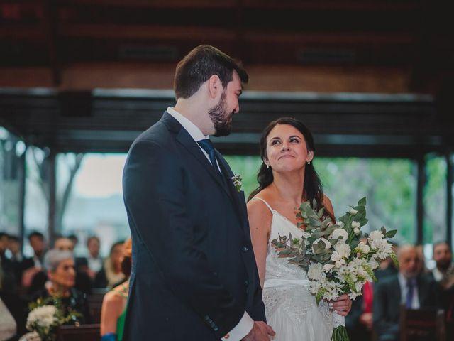 El casamiento de Belén y Santiago