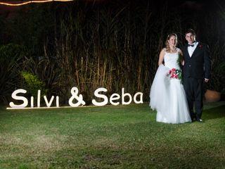 El casamiento de Silvi y Seba 3