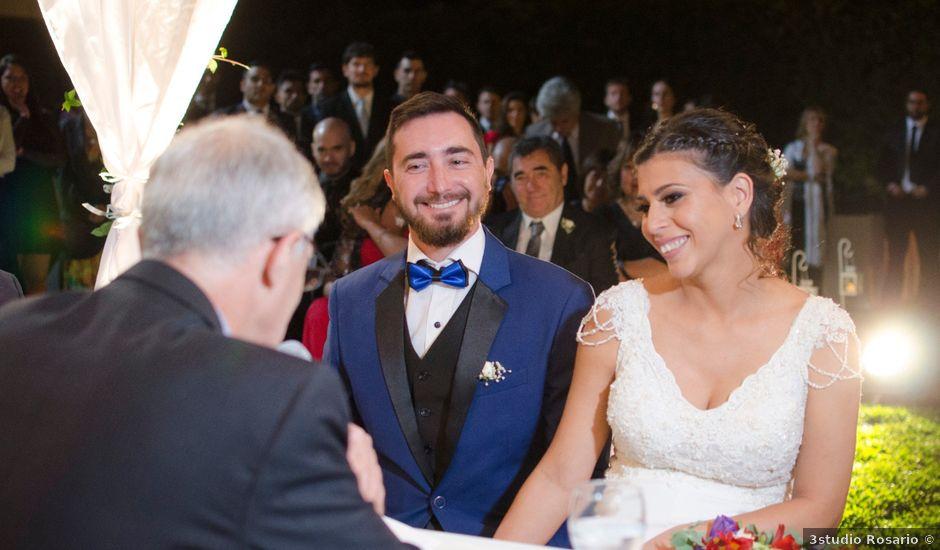 El casamiento de Dante y Cami en Funes, Santa Fe