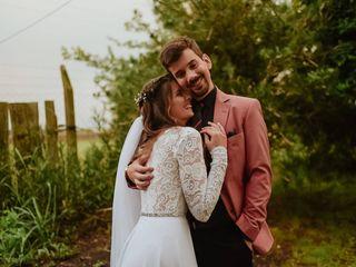 El casamiento de Tania y Wollert