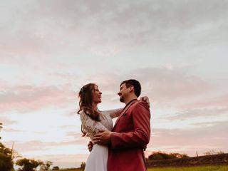 El casamiento de Tania y Wollert 3