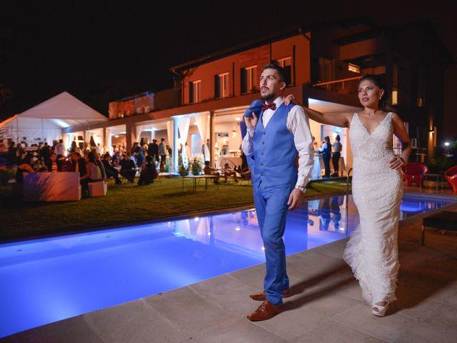 El casamiento de Federico y Marianela