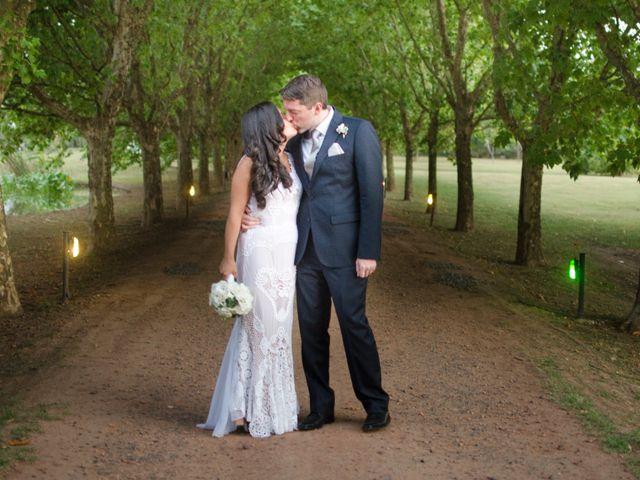 El casamiento de Cinthya y Mariano