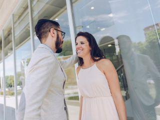 El casamiento de Mau y Milo