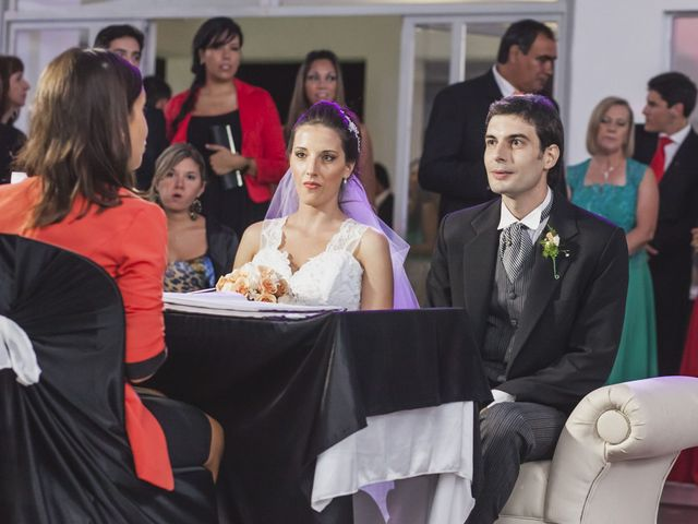 El casamiento de Agostina y Fabricio