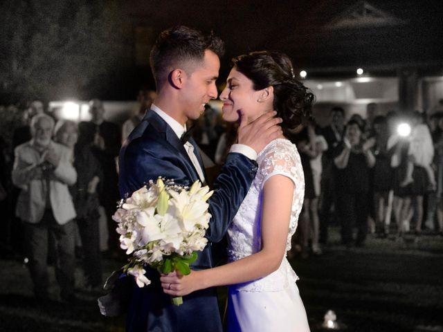 El casamiento de Agata y Cristian