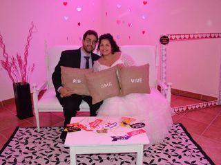 El casamiento de Laura y Román