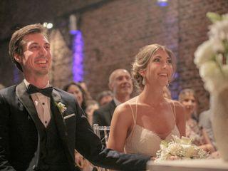 El casamiento de Carla y David