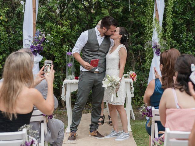 El casamiento de Denise y Mariano