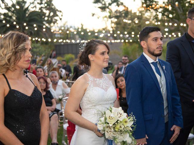 El casamiento de Carolina y Pablo en Mendoza, Mendoza 24