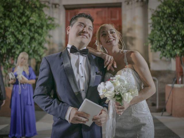 El casamiento de Daniela y Pablo