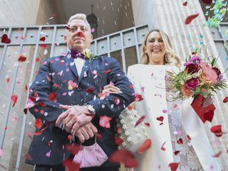 El casamiento de Fede y Cami