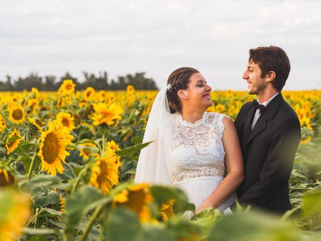 El casamiento de Laura Trucco y Mauro Rigotti