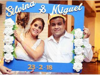 El casamiento de Silvina  y Miguel
