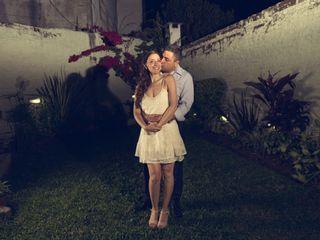 El casamiento de Adriana y Juan