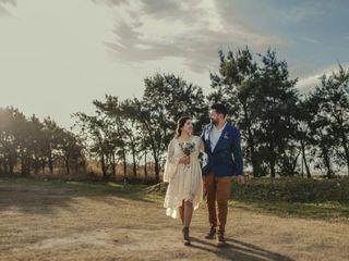 El casamiento de Meli y Roque