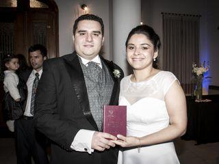 El casamiento de Fernanda y Rodrigo