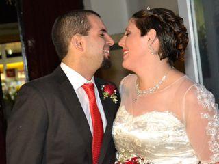 El casamiento de Victoria y Gaston