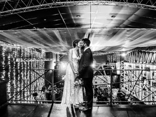 El casamiento de Vicky y Santi